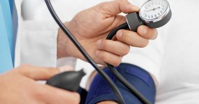 šokinėjantis slėgis yra hipertenzija)