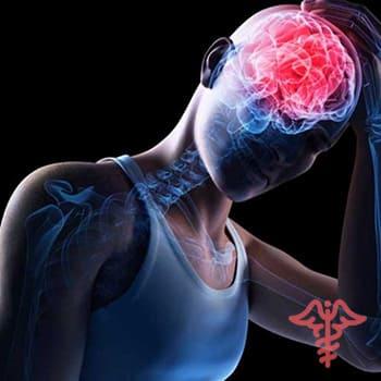 smegenų sukrėtimas su hipertenzija