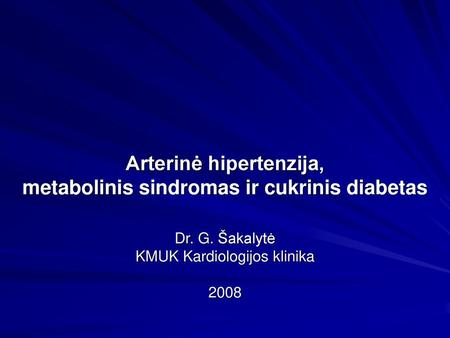 tachikardija su hipertenzija)