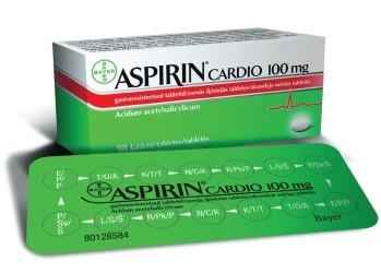krūtinės skausmo aspirino dozė širdies sveikatai)