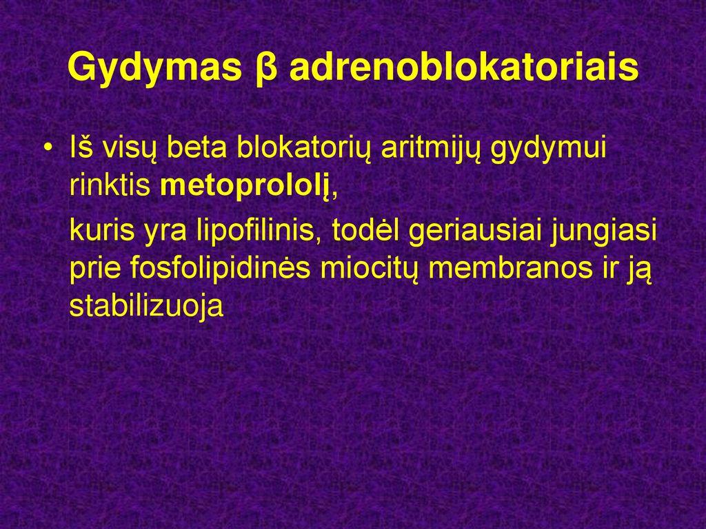 alyvinės hipertenzijos gydymas