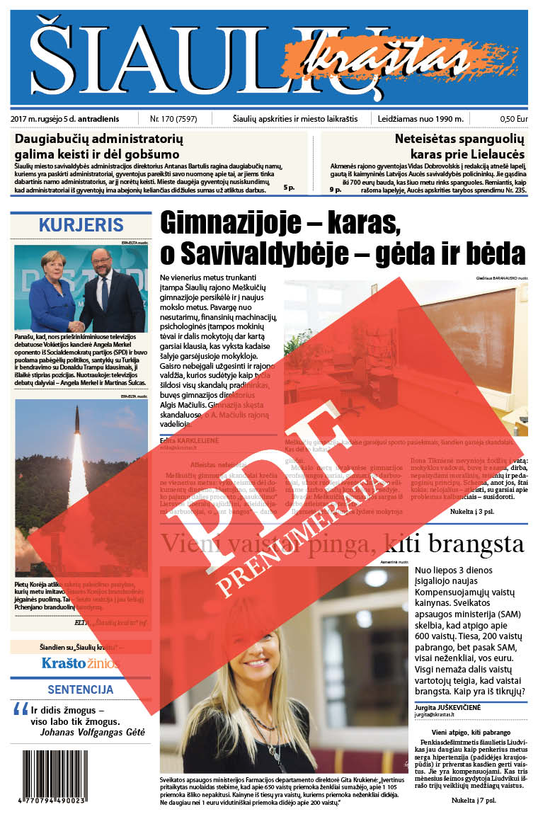 hipertenzijos laikraščiai)
