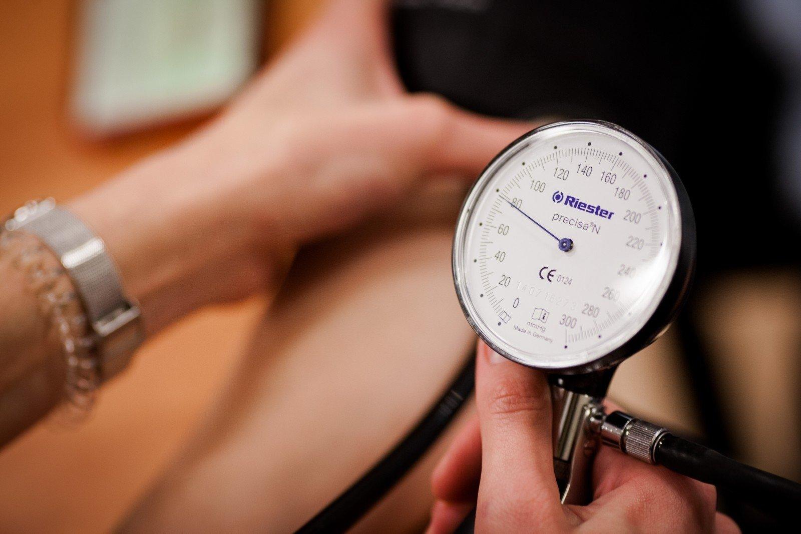 Kraujo donorystė - Hipertenzija November