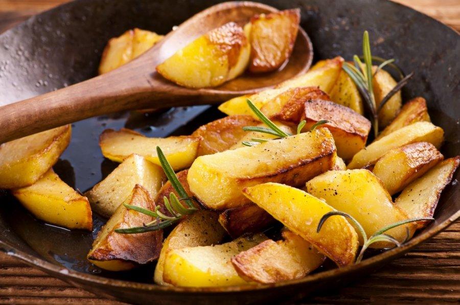 hipertenzija keptos bulvės)
