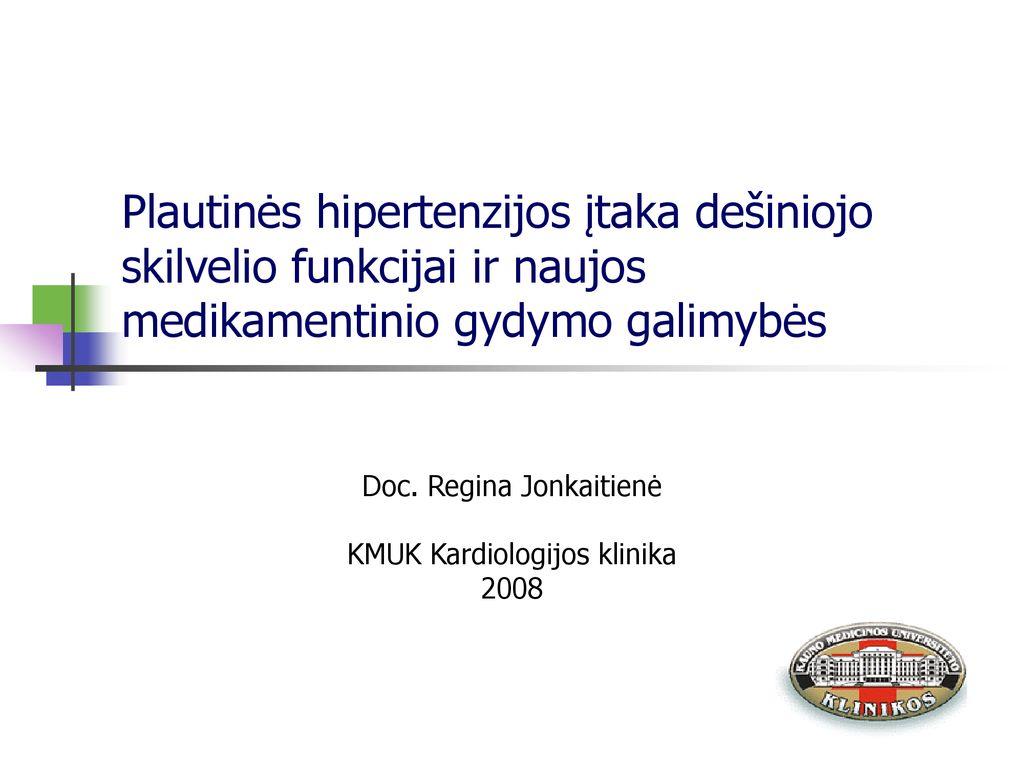 hipertenzija 2-asis gydymas