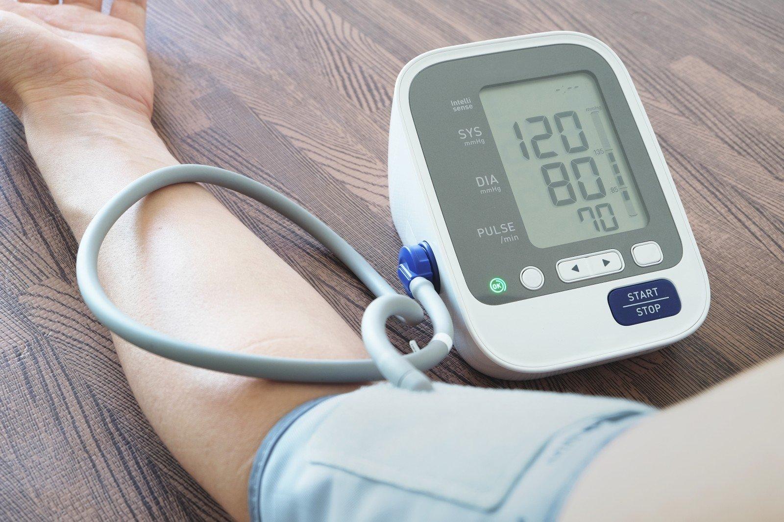 sumažinti hipertenzijos temperatūrą