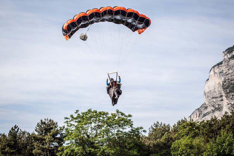 hipertenzija ir parašiutas