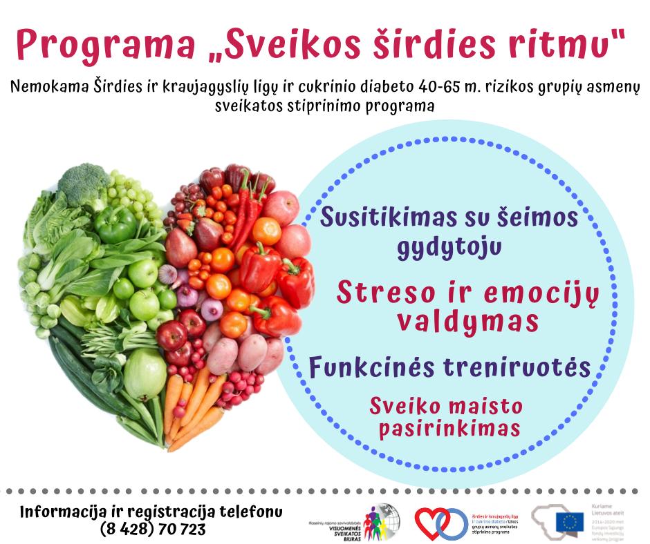 sveikatos pratimų širdies ritmas)