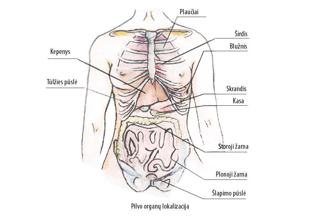 skrandis ir hipertenzija