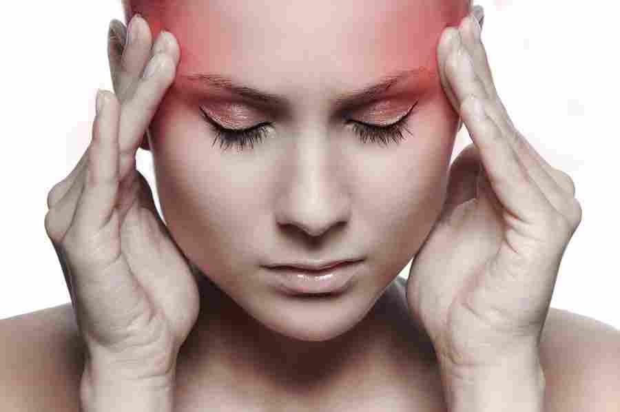 malšinant galvos skausmą su hipertenzija)
