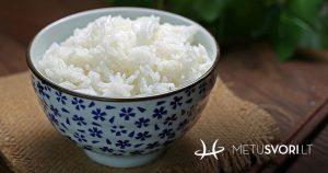 ryžių dieta hipertenzija