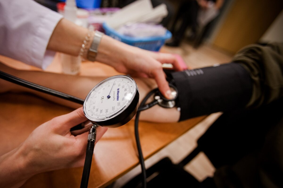 hipertenzija ir išsekimas