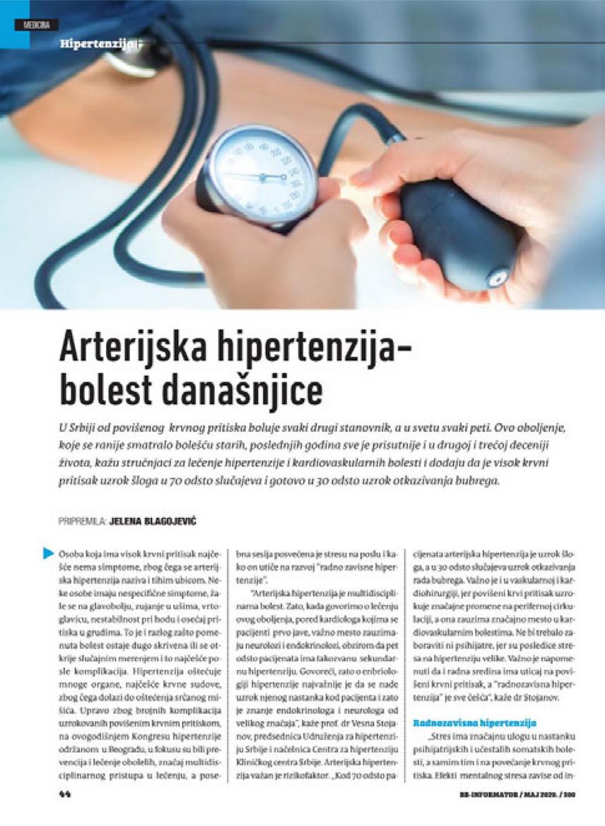 hipertenzija ko ne