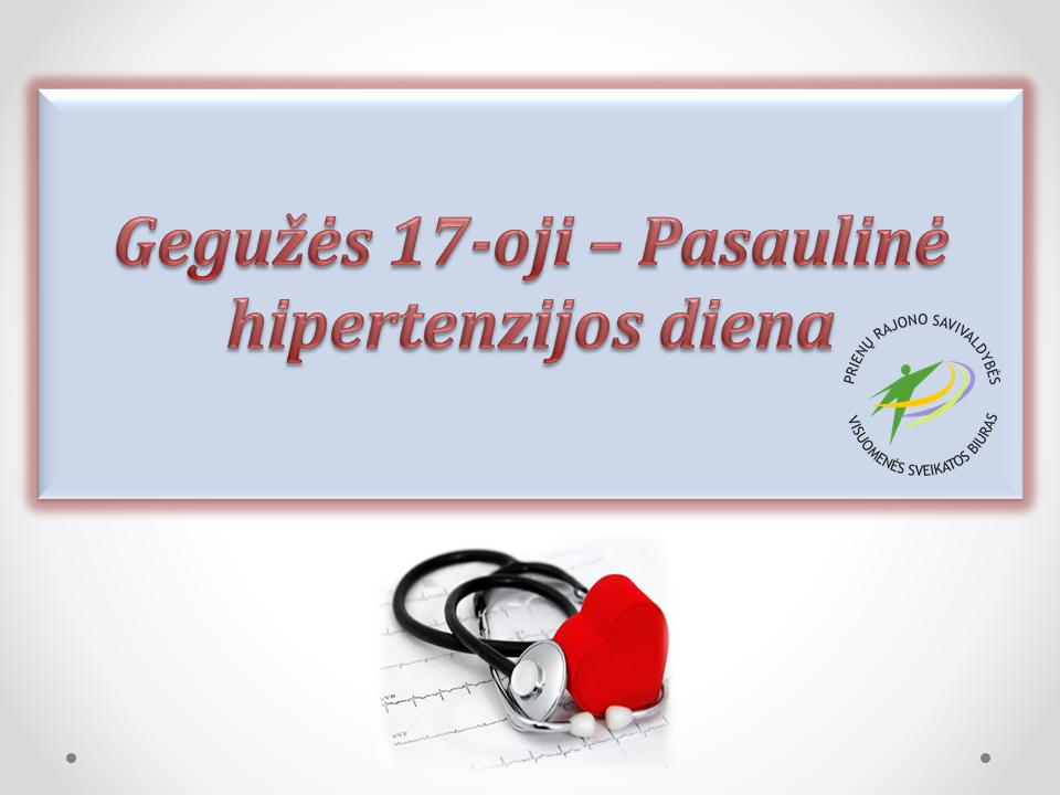 hipertenzija ligos laipsnis